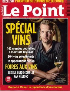 LE POINT Spécial Vins septembre 2014